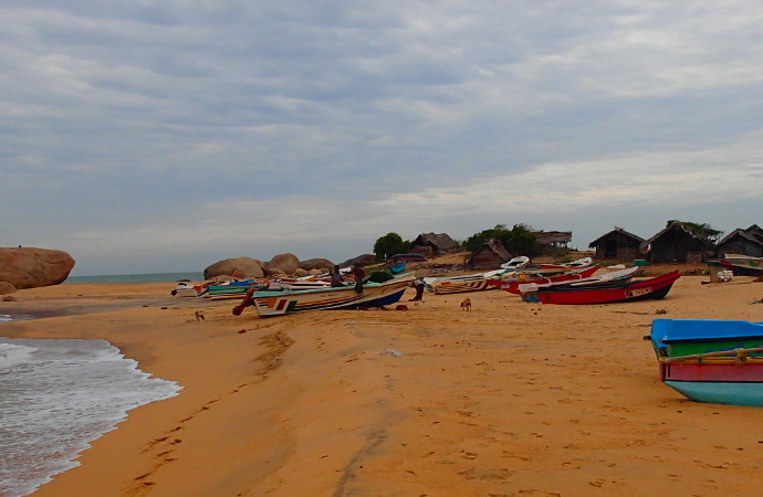 Sri Lanka Fishing Village near Yala National Park