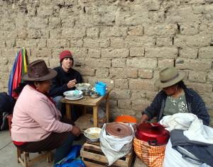 Breakfast Soup in Huaraz Peru
