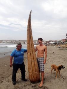 Matt Caballito Surfing in Huanchaco Peru