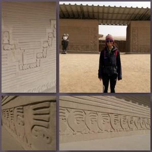 Exploring Chan Chan Ruins Peru