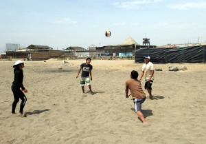 Huanchaco Peru Beach Volleyball