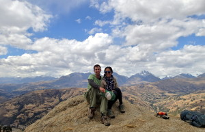 Huaraz Peru Scenic Overlook Love