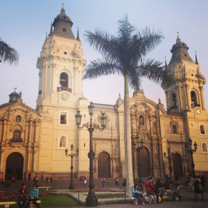 Lima Peru Plaza Del Armas