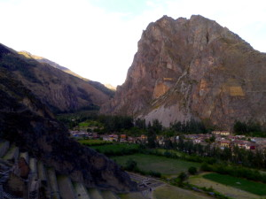 Ollantaytambo Overlook from Temple Hill