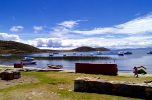 Challa Pampa Harbor Isla del Sol