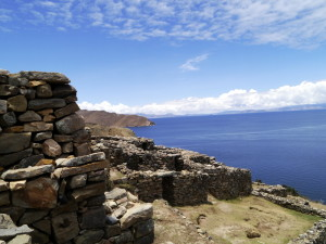 Chinkana Overlook Isla del Sol Bolivia