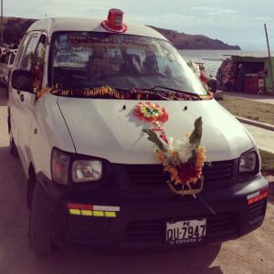 Cococabana Bolivia Blessed Cars