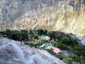 Sangalle Peru Oasis in Colca Canyon