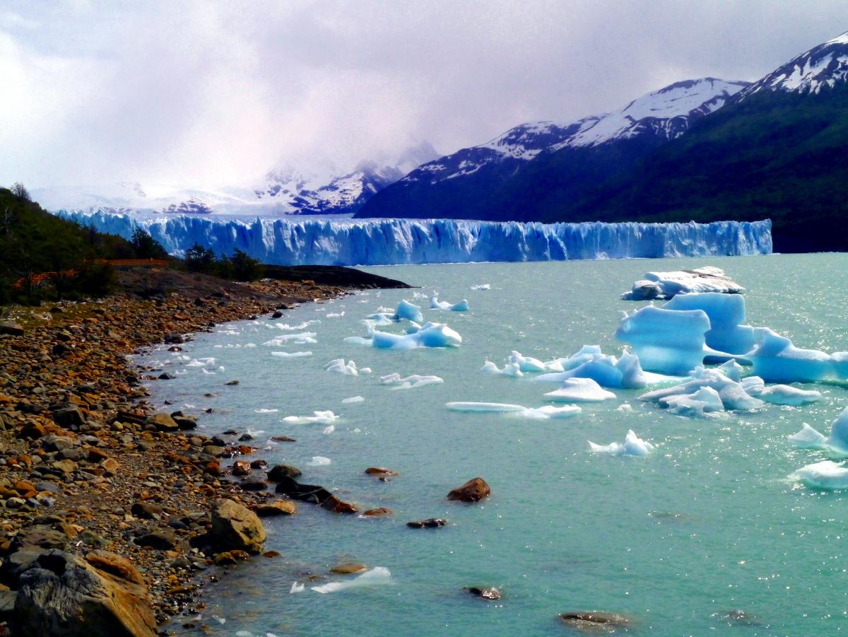 Scenic Perito Moreno Glacier Argentina