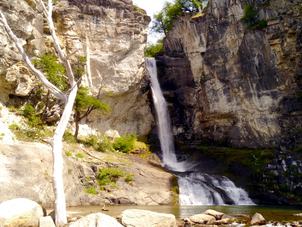 Chorrillo del Salto Waterfall El Chalten Argentina