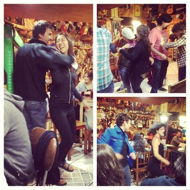 Cueca Folkloric Dancing Valparaiso Chile