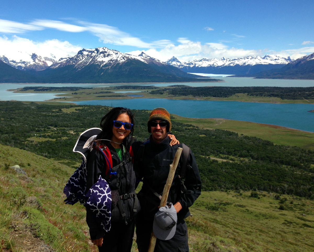 Cerro Cristal overlooking Perito Moreno Glacier & Lago Roca Patagonia