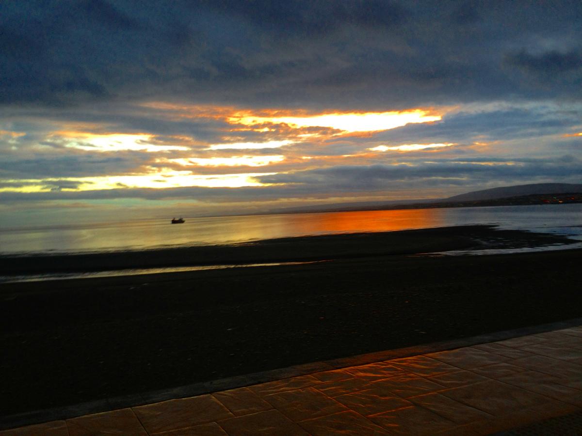 Punta Arenas endless sunset
