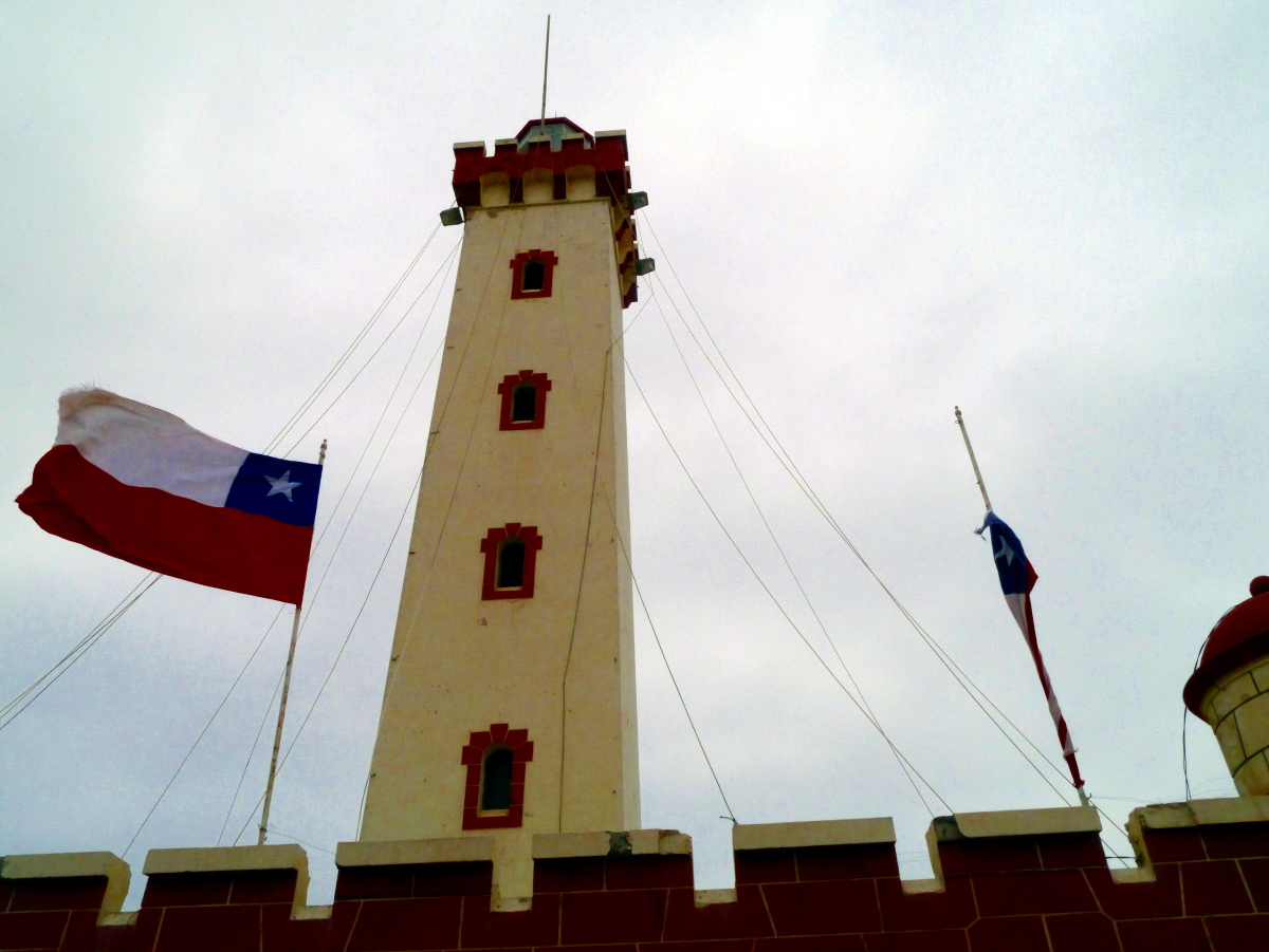 La Serena Chile Lighthouse