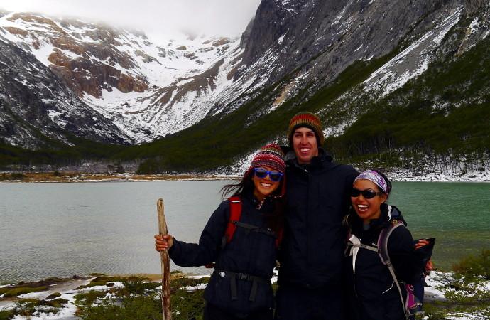 Laguna Esmeralda Patagonia Panoramic