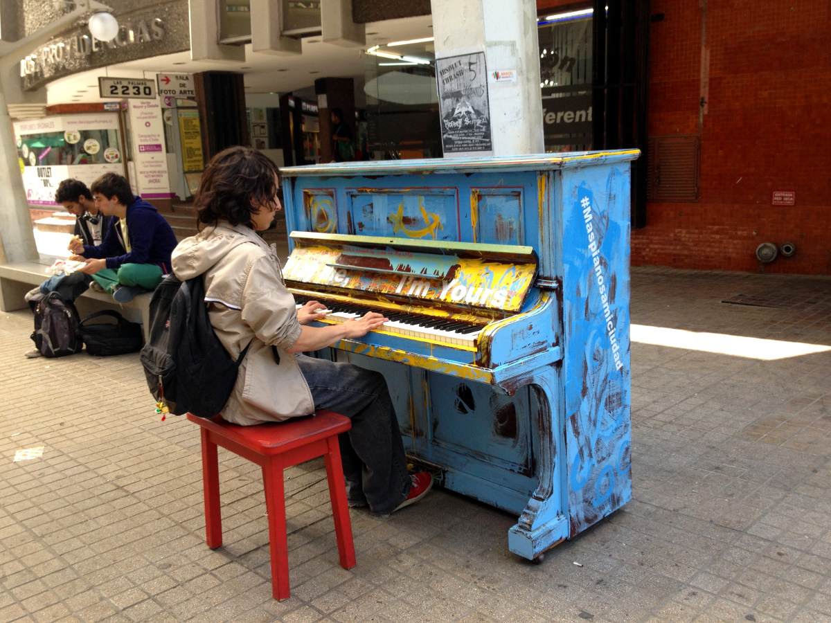 More Pianos in my City Santiago Chile