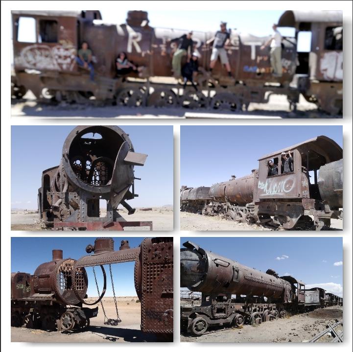 Salar de Uyuni Train Cemetary