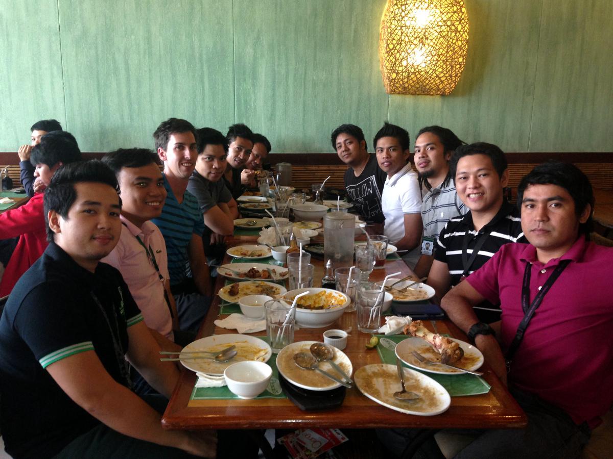 Accenture Team Dinner Manila
