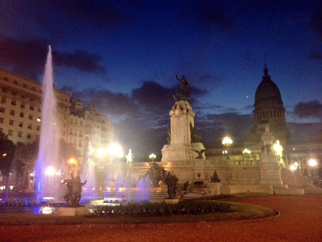 Buenos Aires Fountain Plaza