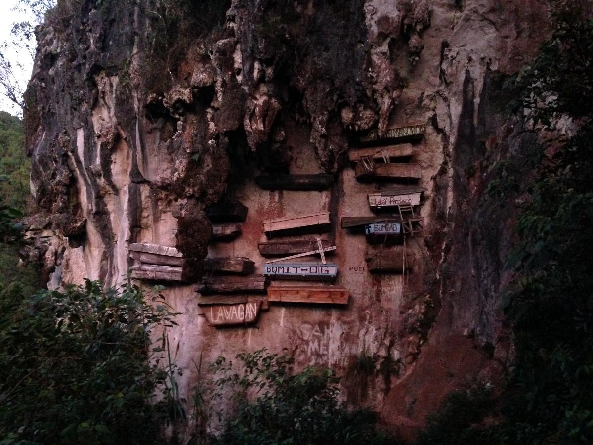 Segada Hanging Cave Coffins