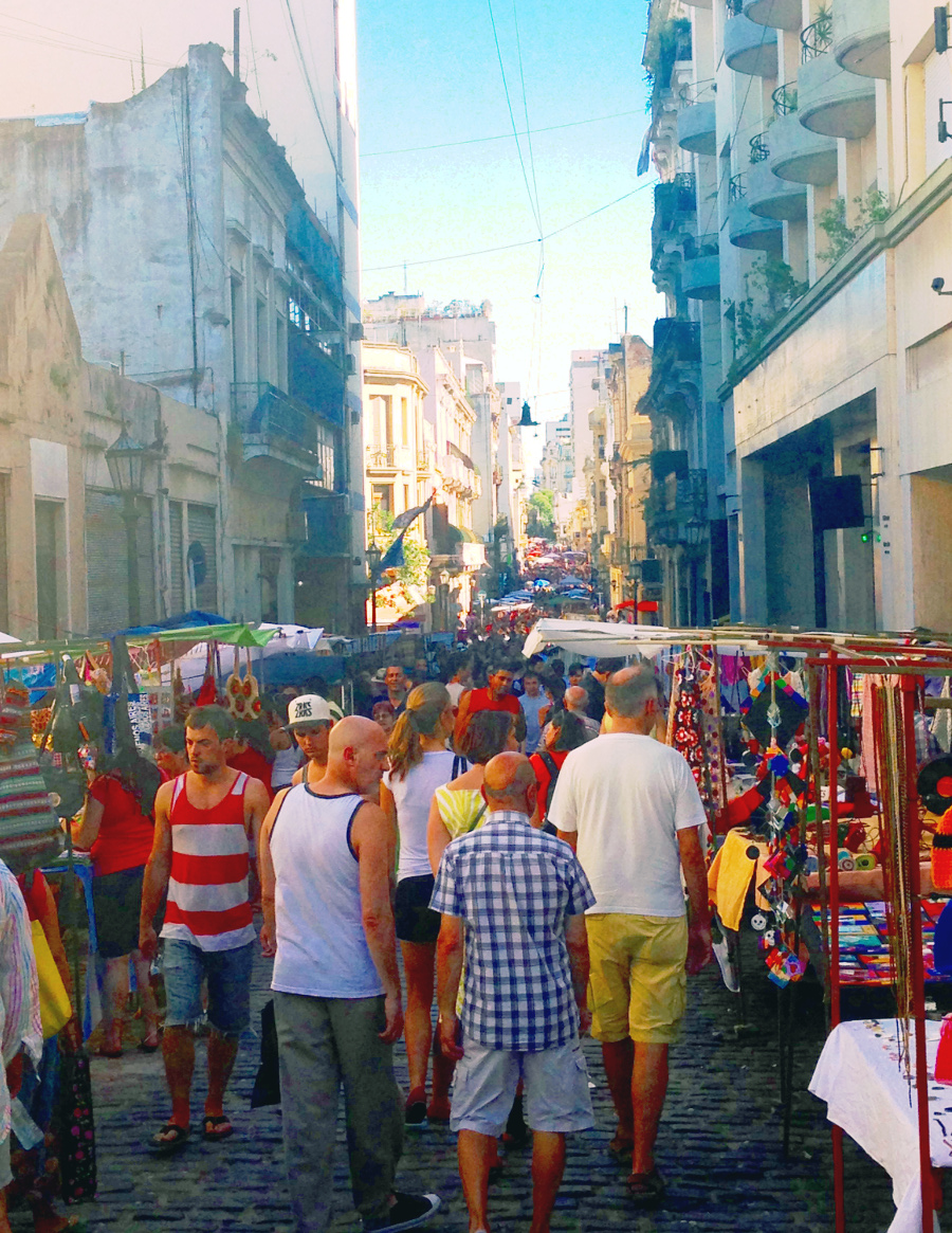 Street Market San Telmo Argentina