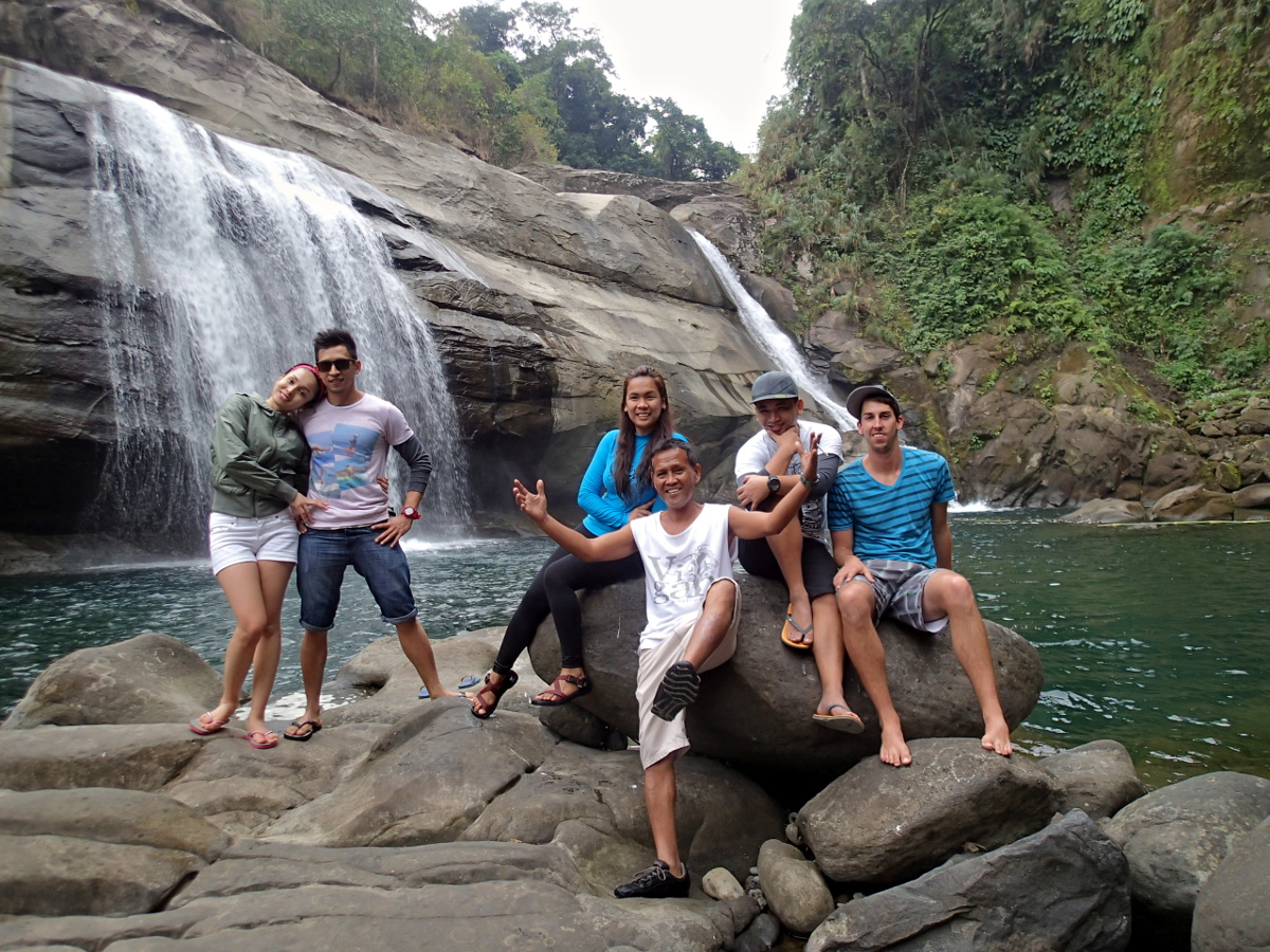 Tangadan Waterfall Group Photo