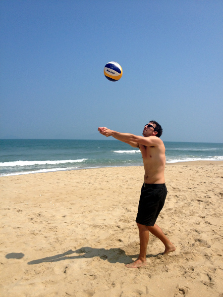 An Bang Beach Volleyball Hoi An Vietnam