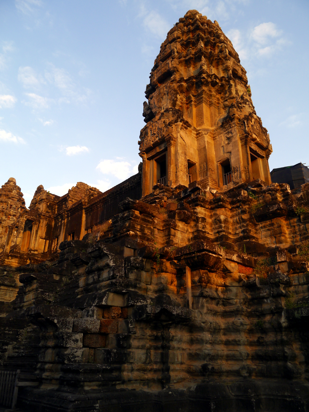 Angkor Wat Lotus Tower Sunrise
