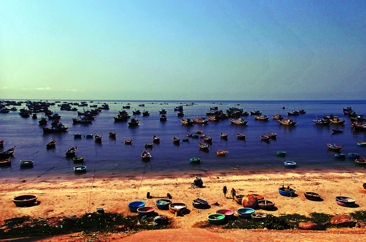 Mui Ne Fishing Harbor