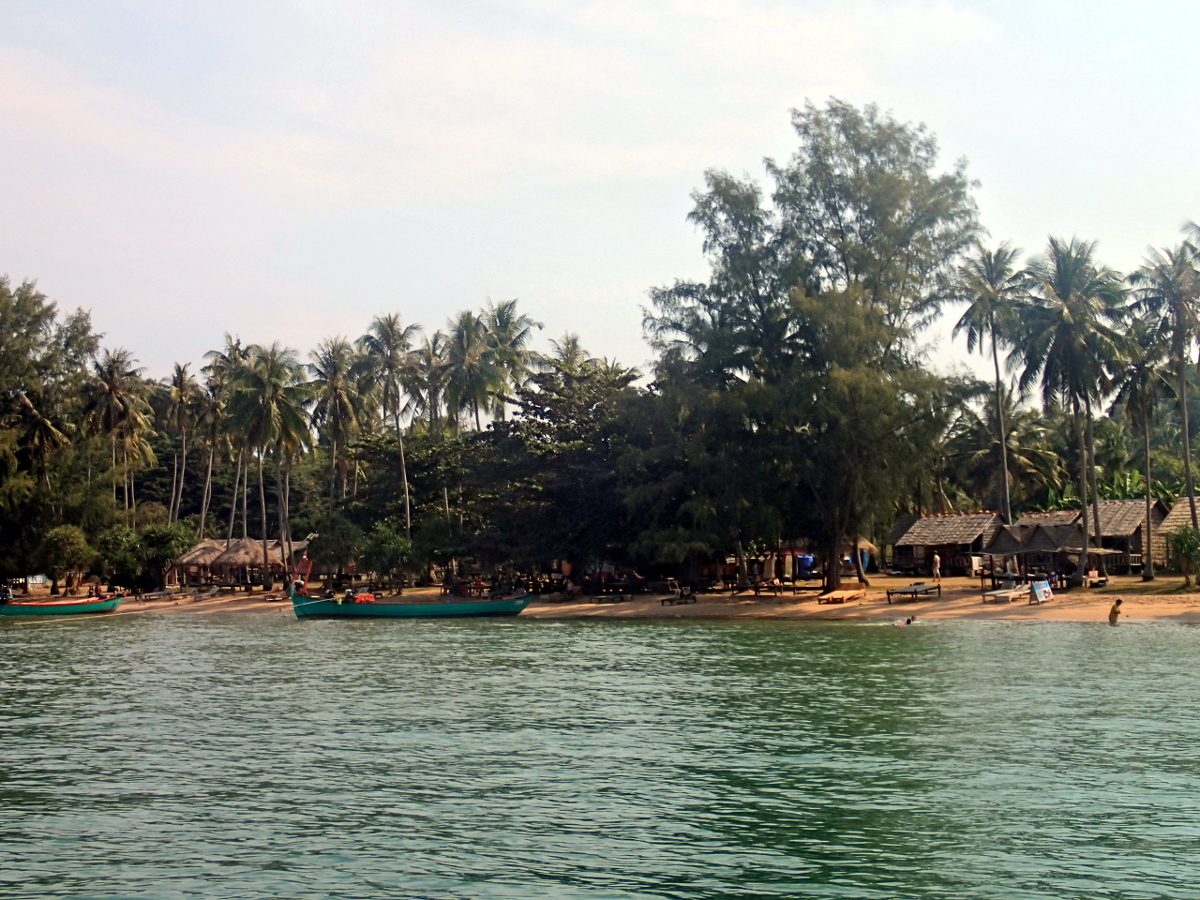 Rabbit Island Beach Kep Cambodia
