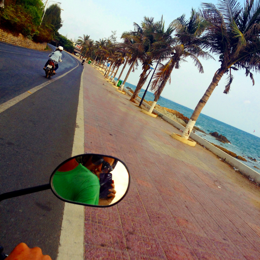 Vietnam Beach Motorbike Ride