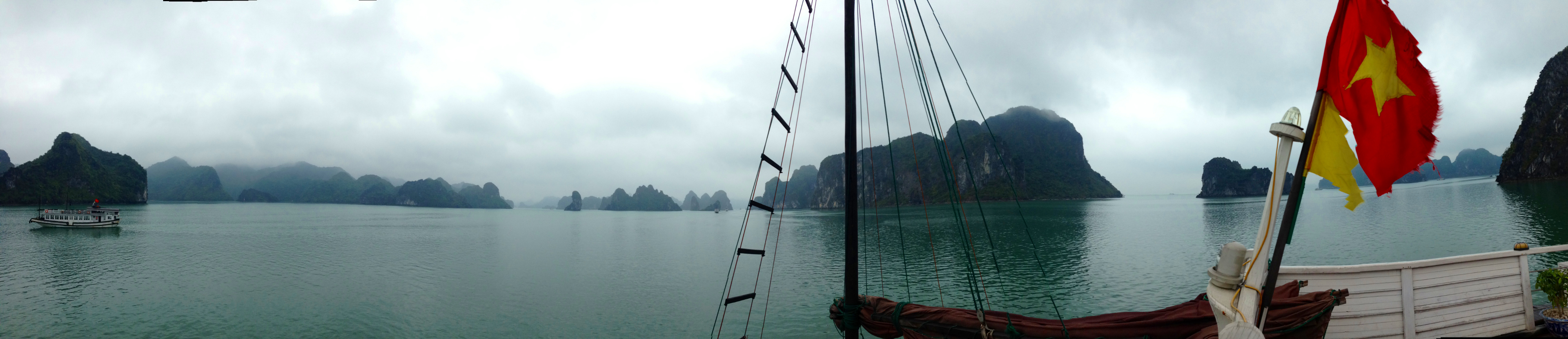 Halong Bay Vietnam Panoramic