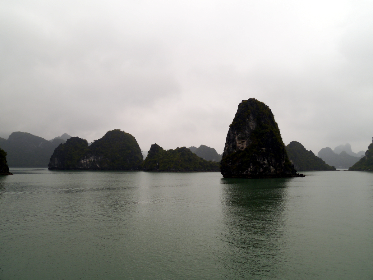 Single Karst Halong Bay