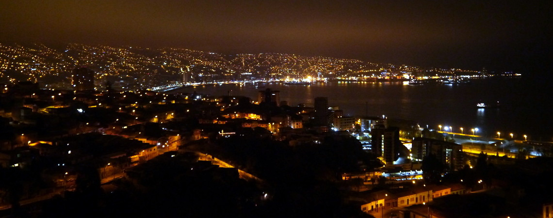 Valparaiso & Vina del Mar, Chile: Hannah Visits for an Epic Dance Party
