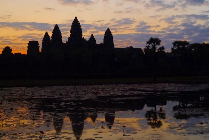 Angkor Wat Sunrise in January